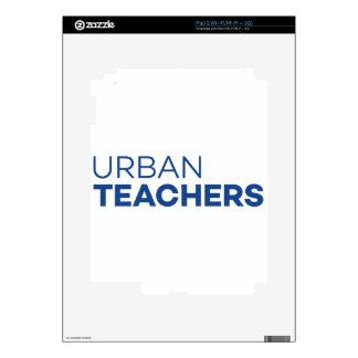 Urban Teachers iPad 2 Skins