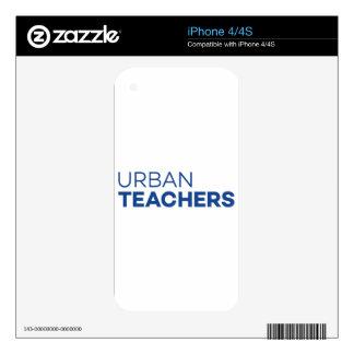 Urban Teachers iPhone 4S Skin