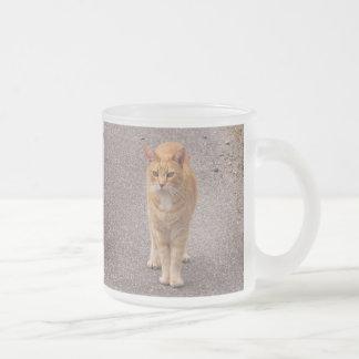 Urban Tiger Frosted Glass Coffee Mug
