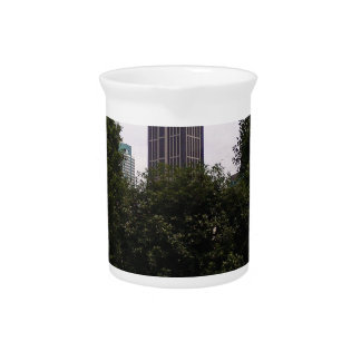 Urban tower and park beverage pitcher
