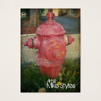 Urban Treated Fire Hydrant Business card
