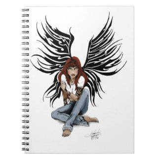Urban tribal Angel Notebook