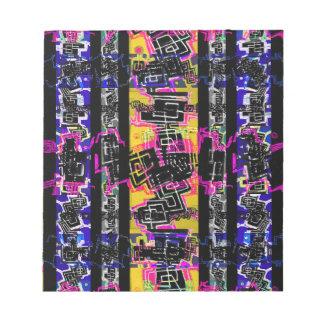 Urban Tribal Stripes Notepad