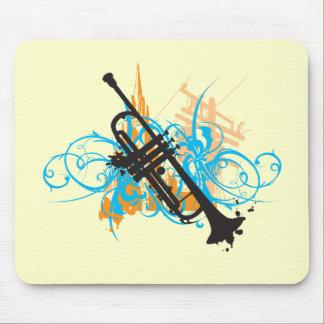 Urban Trumpet Mouse Mat