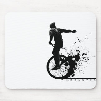 Urban Unicycle A Mouse Pad
