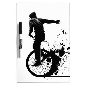 Urban Unicycle Dry Erase Board