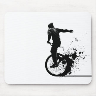 Urban Unicycle Mouse Pad