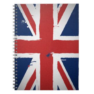 Urban United Kingdom Spiral Notebook