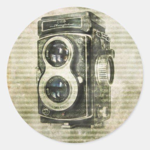 urban Vintage Grunge Retro Camera film Sticker