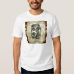 urban Vintage Grunge Retro Camera film Tee Shirt