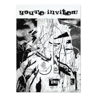 Urban Wallpaper No.1 5.5x7.5 Paper Invitation Card