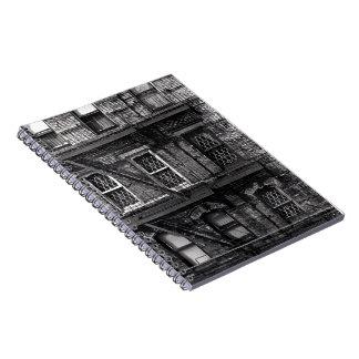 Urban Windows Spiral Notebook