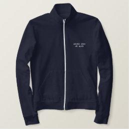 Urban Winter Wear Embroidered Jacket