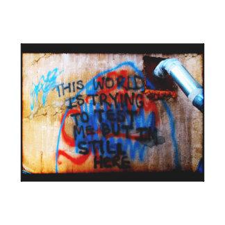 Urban Wisdom Two Canvas Print