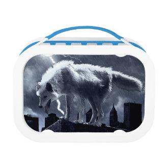 Urban Wolf Lunch Box