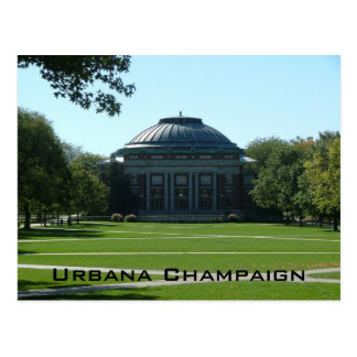 Urbana Champaign Postcard