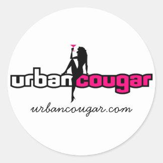 Urbancougar.com White Sticker - Large