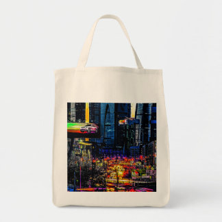Urbanistic Sunset Tote Bag