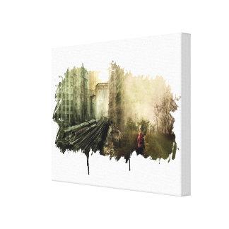 Urbanization vs Everything Else Canvas Prints