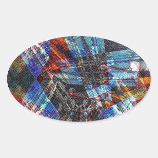 Urbanized Oval Sticker