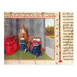 Urbano II que predica la cruzada en Clermont Tarjeta Postal