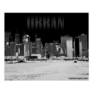 Urbanscape (East) Poster