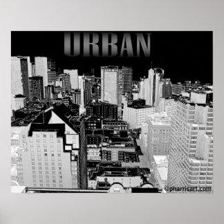 Urbanscape (oeste) póster