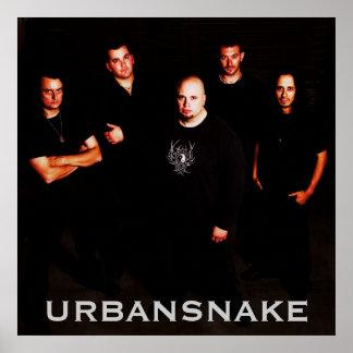 Urbansnake Poster