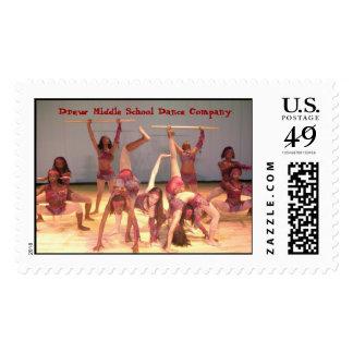 UrbanSymphony2007b, Drew Middle School Dance Co... Postage