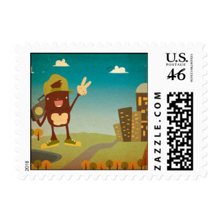 urbanyeti-ai postage stamps