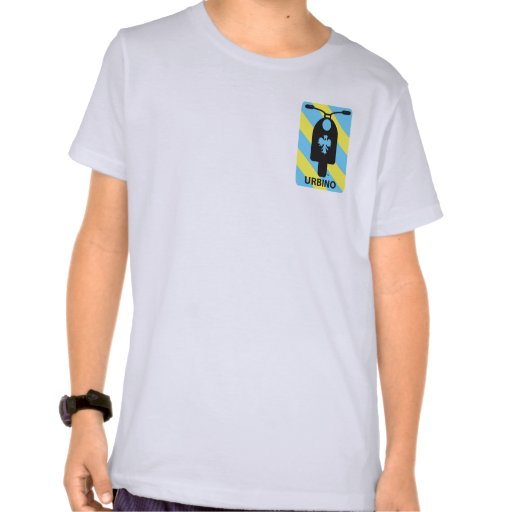 Urbino International Scooter Club Youth T-Shirt