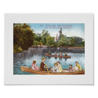 Urbita Hot Springs, California Vintage Poster