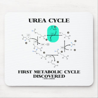 Urea Cycle First Metabolic Cycle Discovered Mouse Pad