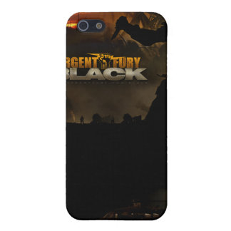 Urgent Fury Black IPhone 4 Case