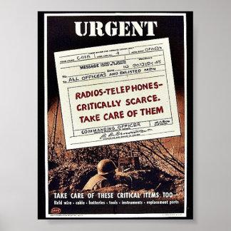 Urgent Posters