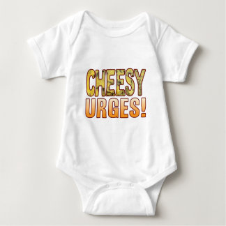 Urges Blue Cheesy Baby Bodysuit