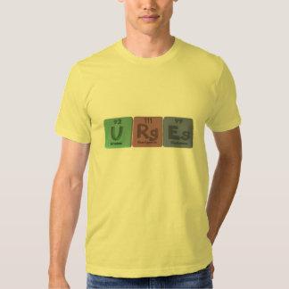 Urges-U-Rg-Es-Uranium-Roentgenium-Einsteinium.png Shirts