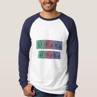 Urges-U-Rg-Es-Uranium-Roentgenium-Einsteinium.png T-shirt