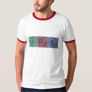 Urges-U-Rg-Es-Uranium-Roentgenium-Einsteinium.png T-shirts