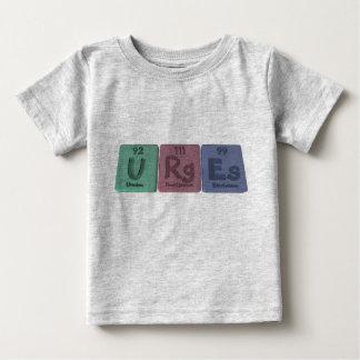 Urges-U-Rg-Es-Uranium-Roentgenium-Einsteinium.png Tshirt