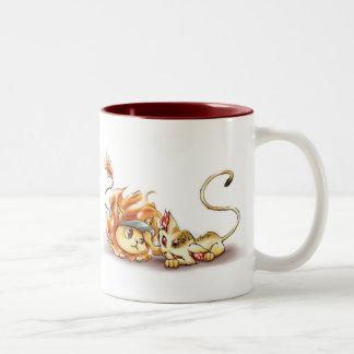 Uri and Natsu mug