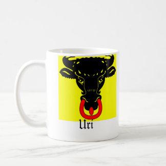 Uri, Schweiz Fahnen Flags Coffee Mug