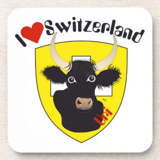 Uri Switzerland Suisse Svizzera cork reductor Coasters