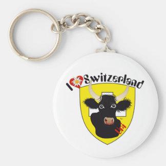 Uri Switzerland Suisse Svizzera key supporter Basic Round Button Keychain