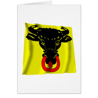Uri Waving Flag Card