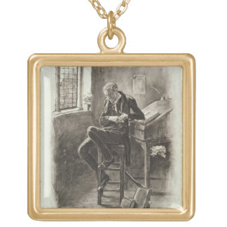 Uriah Heep, from 'Charles Dickens: A Gossip about Gold Plated Necklace