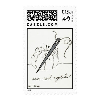 Uric Acid Crystals stamp