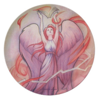 Uriel Melamine Plate