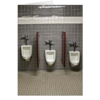 Urinals Card