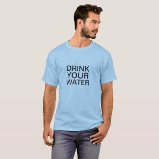 Urine Theraphy Shivambu Drink Your Water Shirt